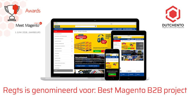 Regts genomineerd voor Dutchento Awards